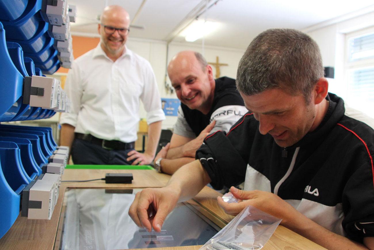 DESC Werkerassistenz für Menschen mit Behinderung